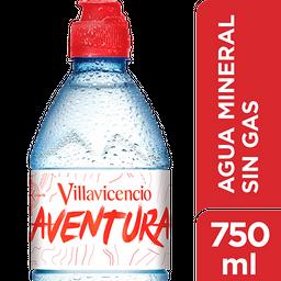 Agua  Villavicencio Sin Gas 750 Ml Sport