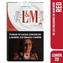 Cigarrillos L&m Común 20 de Marlboro