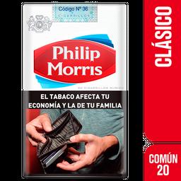 Cigarrillos Philip Morris Com�n 20U