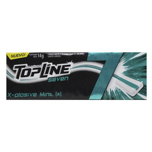 Chicle Top Line 7 Menta