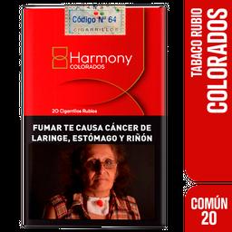 Cigarrillos Harmony, El Sabor De Baisha 20U