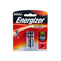 Pilas Energizer Max Aaa X 2