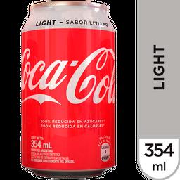 Gaseosa Coca Cola Light Lata 354 Ml