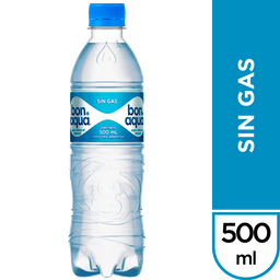 BONAQUA AGUA SIN GAS 500 ML