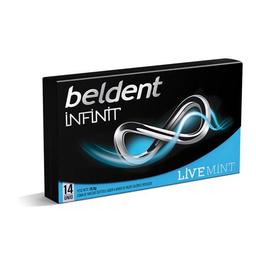 Chicles Beldent Infinit Live Mint 26,6 Grs