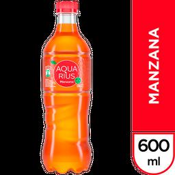 Agua Saborizada Aquarius Manzana Botella 600 Ml