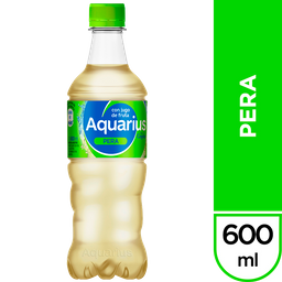 Agua Saborizada Aquarius Pera Botella 600 Ml