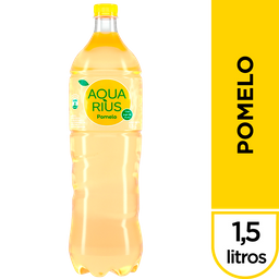 Agua Saborizada Aquarius Pomelo Botella 600 Ml