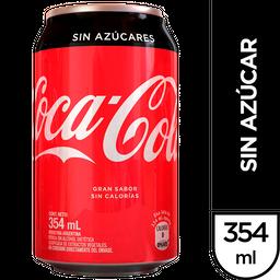 Gaseosa Coca-Cola Sin Azúcar 354 Ml