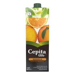Jugo Cepita Naranja Tetra X 1 Lt.