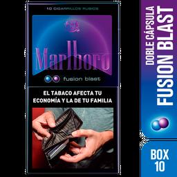 Cigarrillos Marlboro Fusion Blast Box 10u