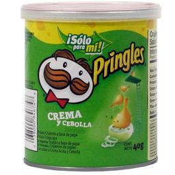 Pringles Papas Fritas Crema Y Cebolla Tubo X 40G