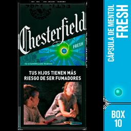 Cigarrillos Chesterfield Fresh Box 10u