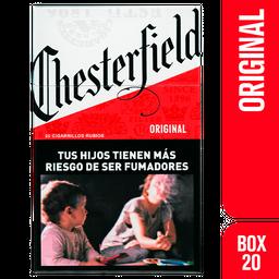 Cigarrillos Chesterfield Original Box 20u