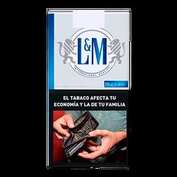 Cigarrillos L&M Blue 10U0'S