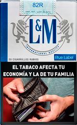 Cigarrillos L&M Blue Común 20U