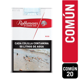 Rothmans Red Comun 20
