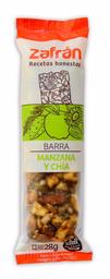 Zafran Barrita De Manzana Y Chia