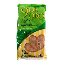 Bizcochos 9 De Oro Light 170 Gr