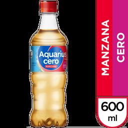 Aquarius Cero Sabor Manzana Pet X 600Cc