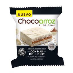 Alfajor De Arroz Chocoarroz Blanco Dl X 25 Gr