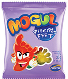 Gomitas Mogul Piecitos 30 g