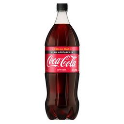 Gaseosa Cola Sin Azúcares Coca Cola Bot 1750 Ml