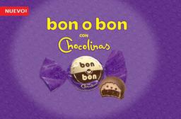 Chocolate Bon O Bon Chocolinas