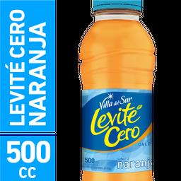 Villa del Sur Levité Cero Agua Saborizada Naranja sin gas 500ml