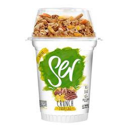 Yogur Ser  Natural Con Cereales Tropical X 160G