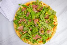 Pizza con Rúcula y Provolone