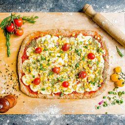 Pizza Vegana Integral Azteca