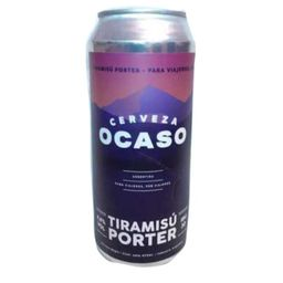 Cerveza Ocaso Tiramisú Porter 473 ml