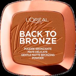 Polvo Bronceante Matte L'Oréal París True Match 02 Sunkis X 9 Gr