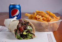 Combo Rappi - Shawarma + Papas + Bebida