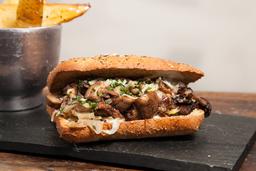 Sándwich Funghi Steak