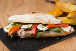 Sándwich de Crudo & Brie