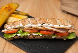 Sándwich Chicken Trenza