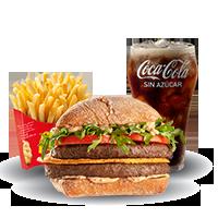 McCombo Provoleta Crispy Doble Carne Mediano