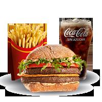 McCombo Provoleta Crispy Doble Carne Grande