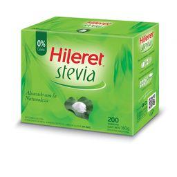 Edulcorante En Sobres Hileret Con Stevia 200 U