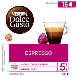 Dolce Gusto Cafe En Capsulas Espresso Capsulas