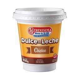 Dulce De Leche La Serenísima Clásico 400 G