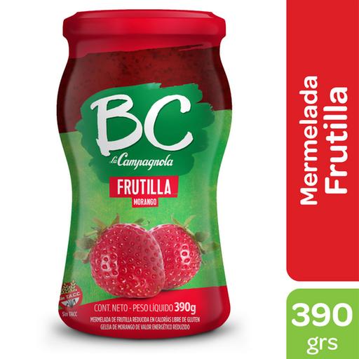 Mermelada Light Bc La Campagnola Frutilla 390 G