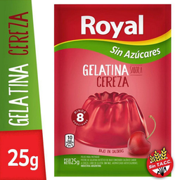 Royal Gelatina Light Cereza