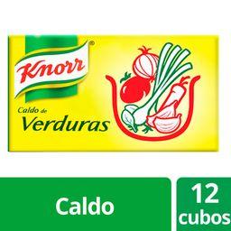 Caldos En Cubo Knorr Verduras 12 U