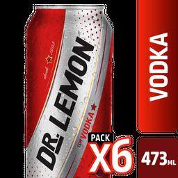 Aperitivo Dr Lemon Vodka 473 Ml