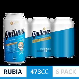 2 u Quilmes Cerveza Clásica