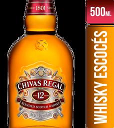 Whisky Chivas Regal 12 Años Botella 500Ml