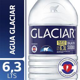 Agua Mineral Sin Gas Glaciar Bidon 6.3 L